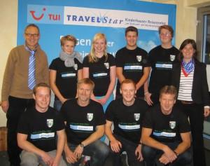 Gruppenfoto der Jugendtrainer Reisecenter Ostlinning
